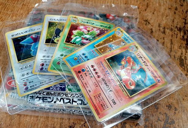 Kolekcja kart Pokemon