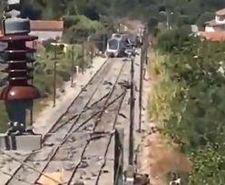 Katastrofa kolejowa w Portugalii. Nie żyją dwie osoby, wielu rannych