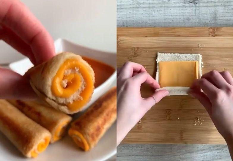 Nie potrzebujesz tostera. Szybki sposób na efektowne tosty