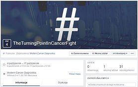 Akcja #TheTurningPointInCancerFight i rewolucyjna metoda diagnozowania raka
