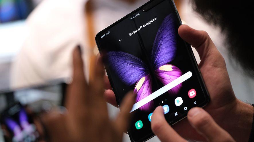 """Samsung deklaruje, że """"setki"""" aplikacji zoptymalizowano na potrzeby Galaxy Folda (Getty Images)"""