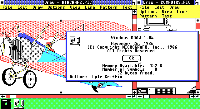 Micrografx Draw (fot. Toastytech)