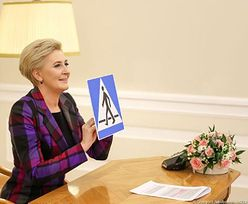 Agata Duda wróciła do szkoły. Pierwsza dama prowadziła lekcje