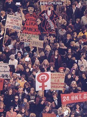 45 lat temu islandzkie kobiety wyszły na ulice. Wystarczył dzień, by zmieniły kraj