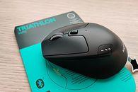 Logitech M720 Triathlon — myszka bezprzewodowa do zaawansowanych zadań biurowych