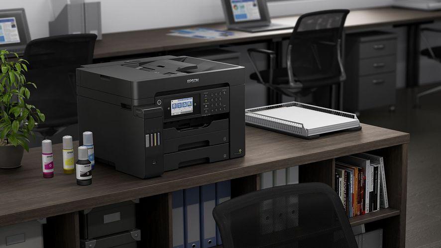 Nowe modele Epson EcoTank do druku A3+. Wydajne atramenty do domu i do małego biura.