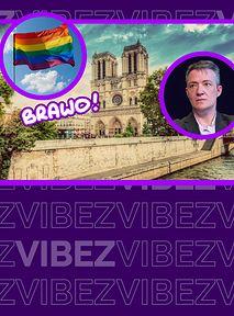Transpłciowy filozof apeluje, aby katedra Notre Dame stała się ośrodkiem LGBTQ+ 🏳🌈