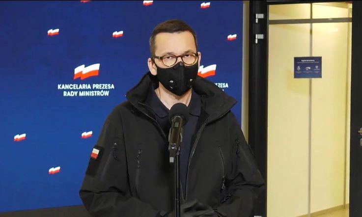 Konferencja premiera Mateusza Morawieckiego. Apel do protestujących