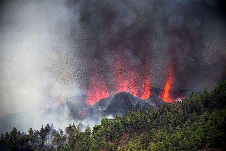 Wybuch wulkanu na wyspie La Palma. Ewakuowano 5 tys. osób