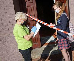Koronawirus u nauczycielki. Egzaminy ósmoklasistów nie odbyły się