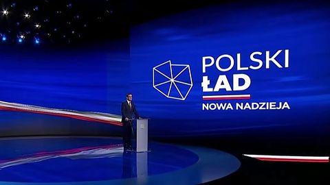Polski Ład jak Tempest. Logo przypomina grę z czasów stanu wojennego