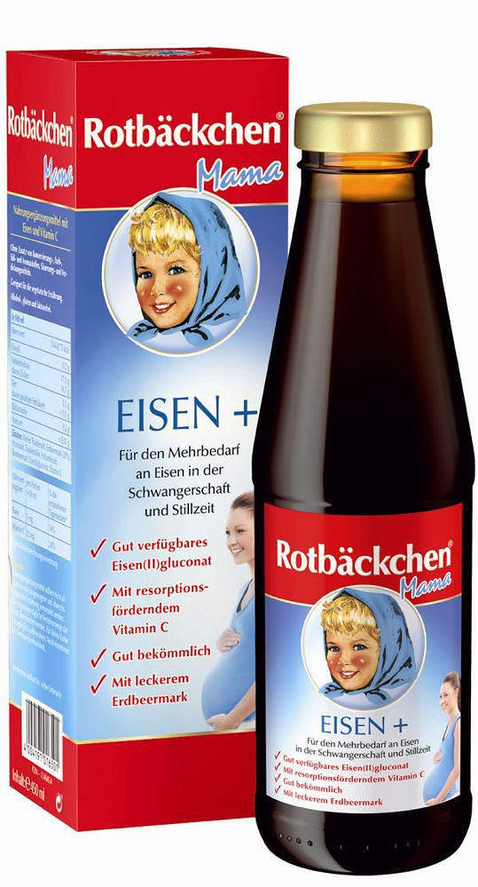 Rotbackchen Mama żelazo +