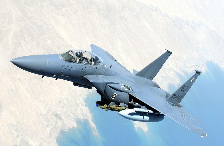 Katastrofa myśliwca F-15. Odnaleziono ciało pilota