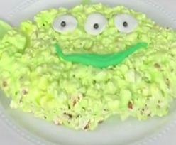 Dzieciaki oszaleją. Przepis na popcorn a'la Mały Zielony Człowiek z Pixara