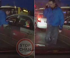 Zaatakował kierowcę na światłach. Jego reakcja była natychmiastowa