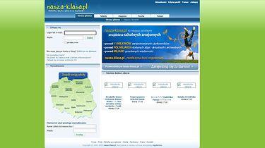 Żegnaj, Nasza Klaso. Nie będziemy po tobie płakali, ale byłaś naprawdę ważna (opinia) - Nasza-Klasa.pl, strona główna w 2008 roku