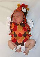 Noworodki w szpitalu w Teksasie pokazują, jak Amerykanie obchodzą Święto Dziękczynienia