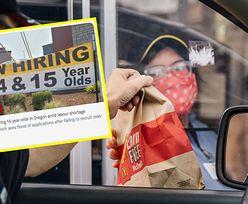 McDonald's zatrudnia dzieci. Skandal w USA