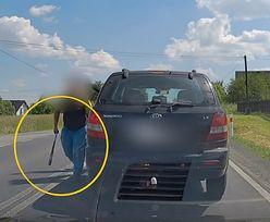 Kierowca popukał się w czoło. To, co stało się potem, obiegło media