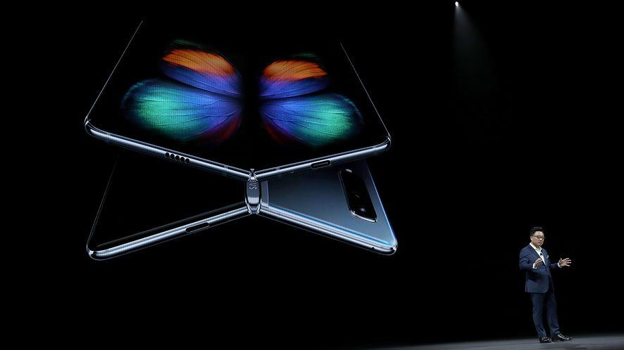Prace nad Samsungiem Galaxy Fold wciąż trwają (Getty Images)