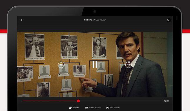 Aplikacja Netflix na systemie Android, fot. Google