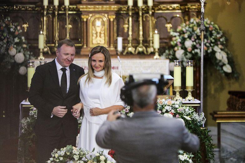 Pierwsza rocznica z drugą żoną. Romantyczne oblicze prezesa TVP