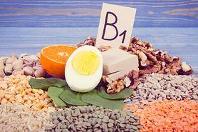 Tiamina (witamina B1) - rola, niedobór, źródła w diecie