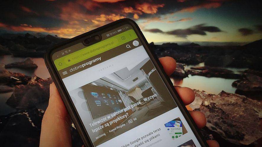 Kiwi: szybka przeglądarka na Androida blokuje reklamy, powiadomienia i koparki kryptowalut