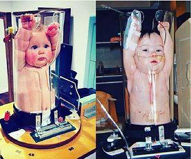 Zdjęcia rentgenowskie małych dzieci robią furorę. Wyglądają jak zamknięte w blenderze