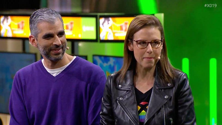 Catherine Gluckstein na X019, fot. YouTube