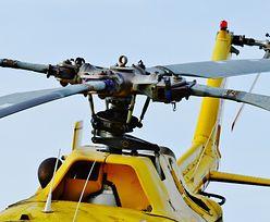 Śląsk. Katastrofa helikopter pod Pszczyną. Cudem nie wszyscy zginęli