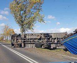 Wichury w Polsce, wiatr przewraca nawet ciężarówki! Zdjęcia przerażają