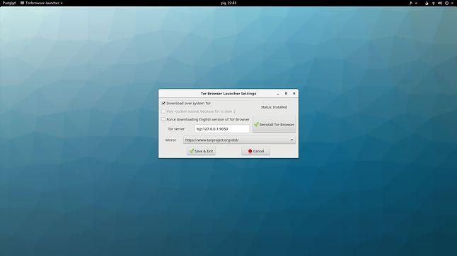 Launcher Tor Browsera – niegotowy na nową wersję przeglądarki