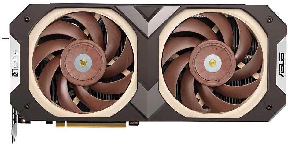 GeForce RTX 3070 by ASUS - Noctua. Klasyczne barwy zachowane - RTX3070-O8G-NOCTUA