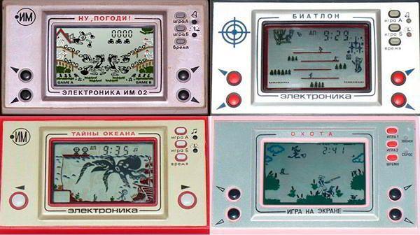 Na górze: Jajeczka! (l), Biathlon (p). Na dole: Tajemnice ocena (l), Strzelanie do ptactwa (p).