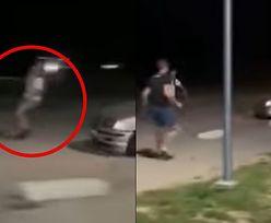 Wstrząsające nagranie z Radymna. Kierowca próbował rozjeżdżać pieszych!