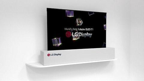 LG na CES pokazało telewizor OLED, który można zwinąć w rolkę
