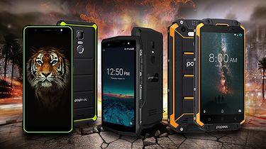 Wytrzymałe smartfony Poptel w wyprzedaży z okazji 11.11 taniej nawet o 65$