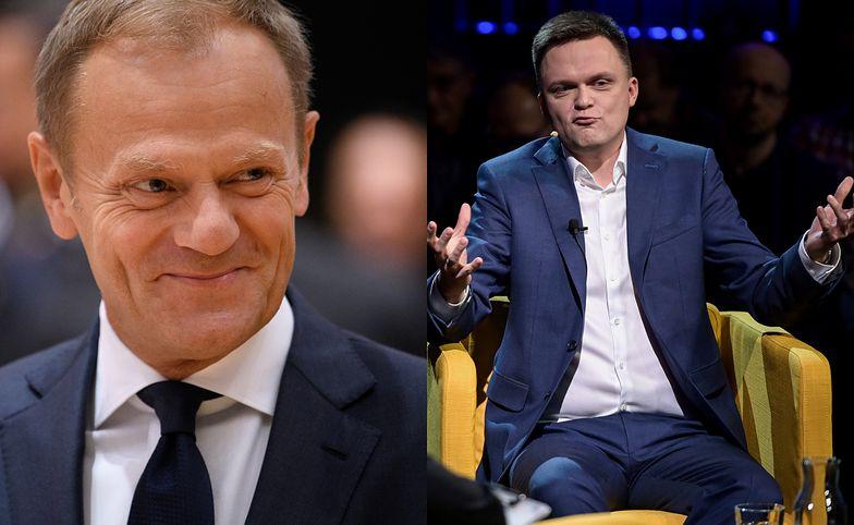 Koszmar Szymona Hołowni. Donald Tusk nie daje mu żadnych szans!