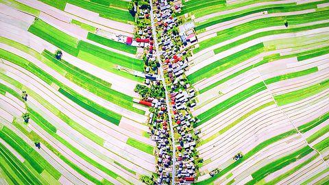 Polska wieś słynna na cały świat. Zdjęcia obiegły Internet