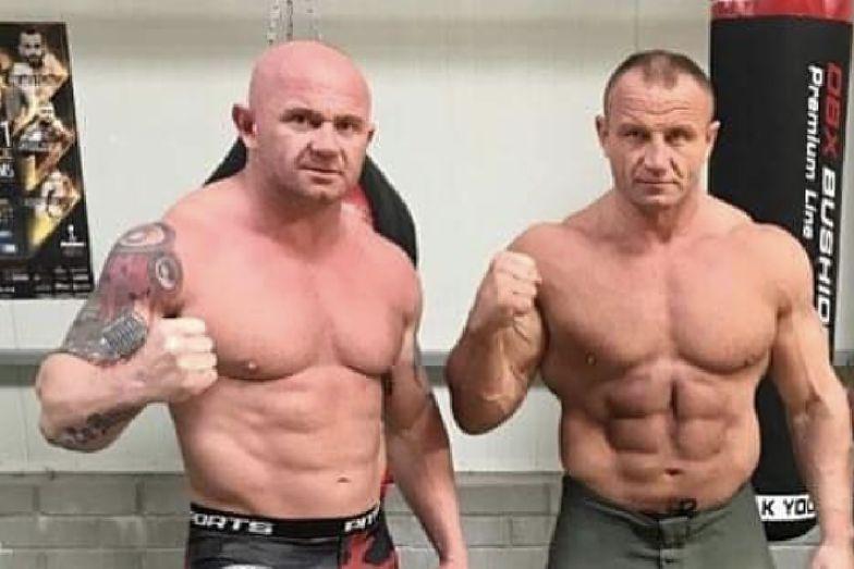 Hit na gali Marcina Najmana! Pudzianowski stanie do walki w MMA-VIP