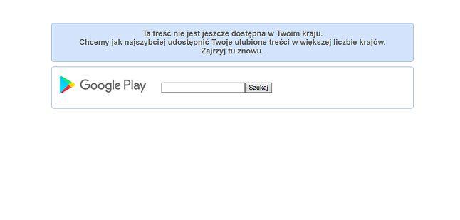 Po kliknięciu na link prowadzący do  UC Browser w Google Play.