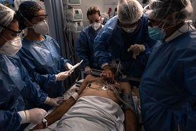 Zatorowość płucna po COVID-19. Dr Chudzik: Może pojawiać się nawet u pacjentów po bezobjawowym zakażeniu