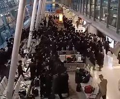 Grupa Żydów złamała obostrzenia na lotnisku Chopina. Nagranie trafiło do sieci