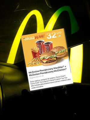Breaking News: Coca-Cola wróciła do okazYEAH w McDonald's