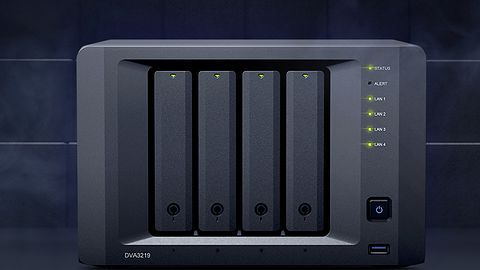Synology NVR DVA3219. Nowy rejestrator do monitoringu z grafiką GeForce GTX 1050Ti