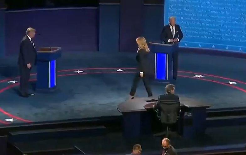 Melania Trump weszła na scenę i... Nagranie jest hitem