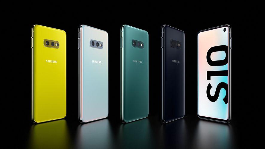 Samsung Galaxy S10e to najmniejszy smartfon w serii, fot. materiały prasowe