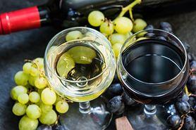 Wino z winogron - właściwości, przepis