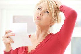 Objawy menopauzy - nieregularne miesiączki, uderzenia gorąca, dolegliwości bólowe